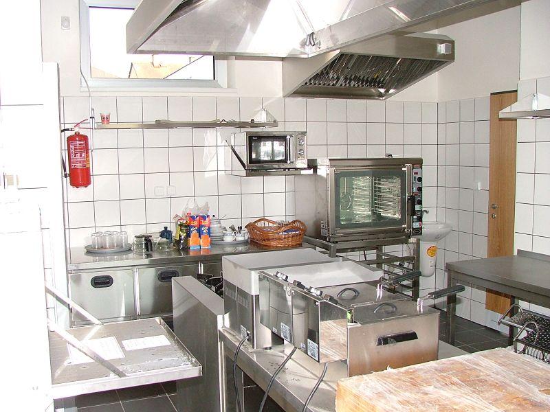 Benzinová stanice Vilémov - kuchyň